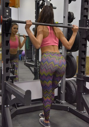Ass In Yoga Pants Porn